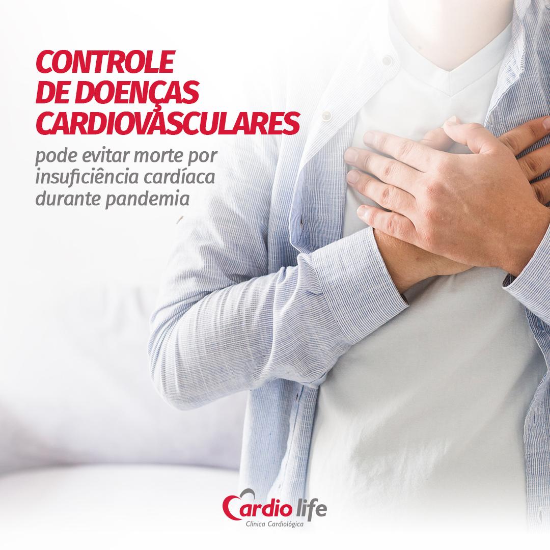 Controle de doenças cardiovasculares pode evitar morte por insuficiência cardíaca durante pandemia