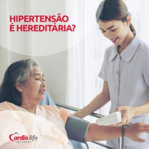 Hipertensão é hereditária?