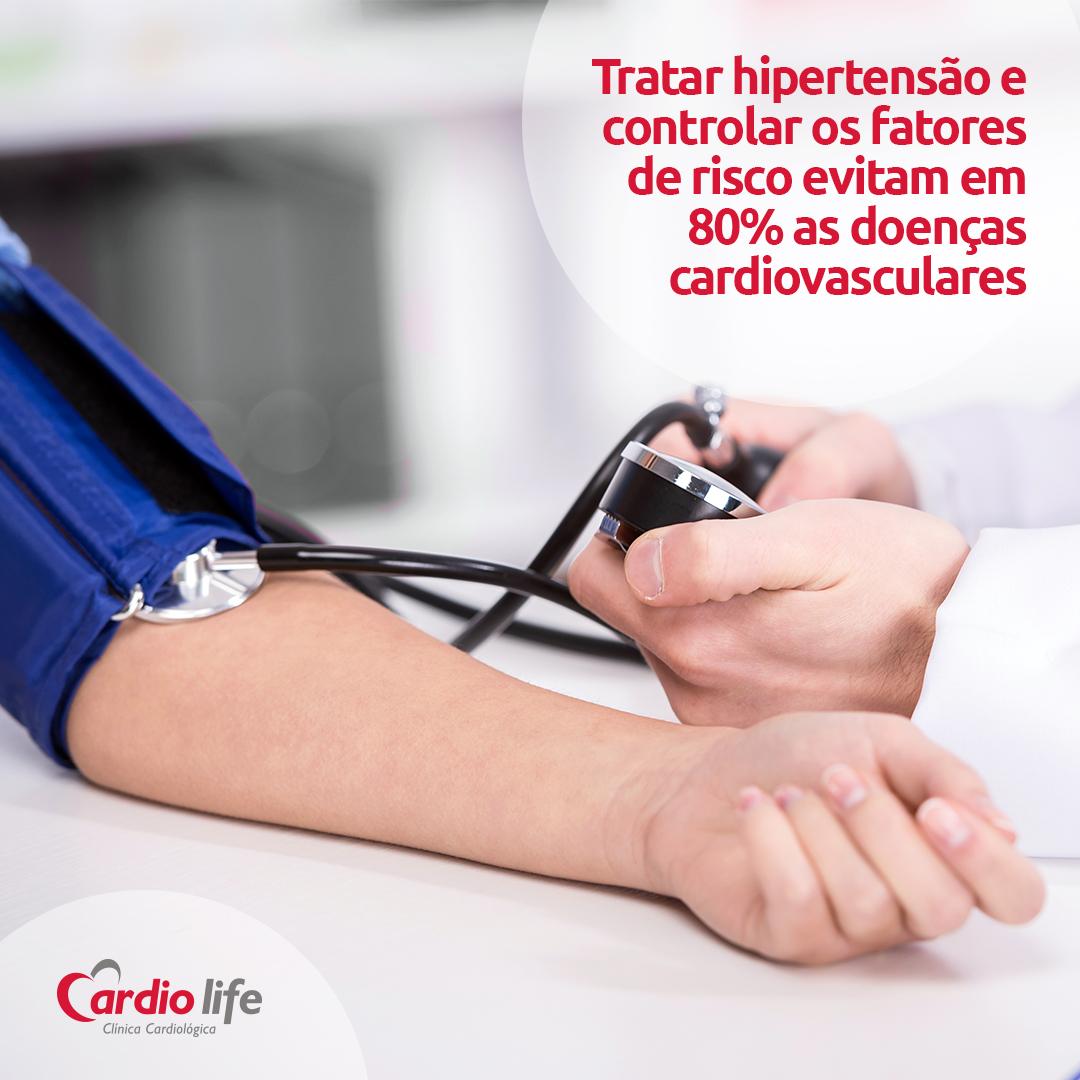 Tratar hipertensão e controlar os fatores de risco evitam em 80% as doenças cardiovasculares